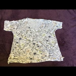 Lucky Brand Floral T